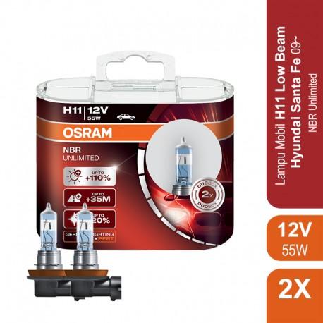 Lampu Night Breaker Unlimited - H11 - 64211NBU 12V 55W
