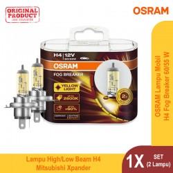 Jual Osram Lampu Kabut Mobil H1 Fog Breaker 12V 55W - 62150FBR - Biru - dg Harga Murah