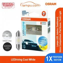 Jual Osram Lampu Cabin Interior / Plat Mobil - LEDriving Festoon 6000K Putih 6431CW - dg Harga Murah