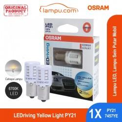 Jual Osram Lampu LED Sein Putar Mobil PY21- 7457YE Yellow Light - Kuning [6700K] - dg Harga Murah