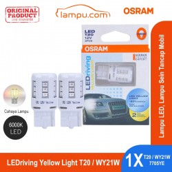 Jual Osram Lampu LED Sein Tancap Mobil T20 - 7705YE Yellow Light - Kuning [6000K] - dg Harga Murah
