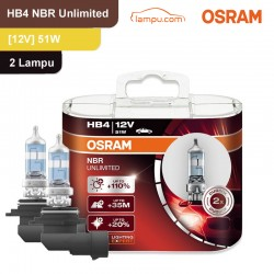 Lampu Night Breaker Unlimited - HB4 - 9006NBU 12V 55W