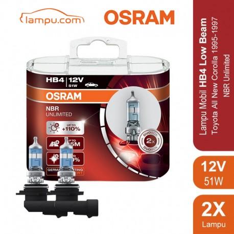 Lampu Night Breaker Unlimited - HB4 - 9006NBU 12V 55W