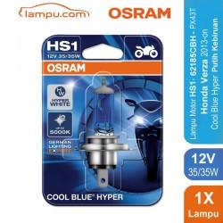 Osram Lampu Depan u/ Motor hs1/h4 12v 35/35w - Cool Blue - u/ Motor (vixion, bison, cbr150, cbr250 ninja, dll) Murah