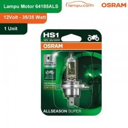 Osram Lampu Depan Motor HS1 64185ALS 12V 35/35 PX43T All Season Super - Tidak Cepat Panas & Redup