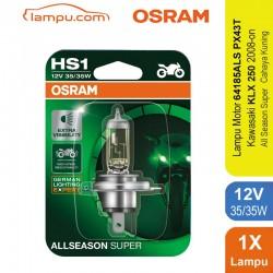 Osram Lampu Depan Halogen HS1 All Season Super - Lampu Motor Paling Terang Tidak Cepat Panas & Redup dg Harga Murah