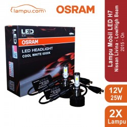 OSRAM 65210CW Lampu LED Mobil H7 - PX26d - Cool White