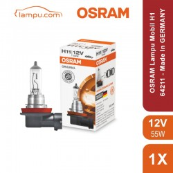 Lampu Mobil H1 12 V 55W Standard 64150 Osram Original - Made In Germany