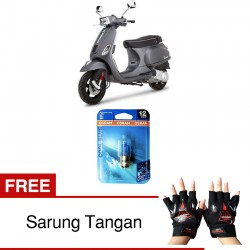 Osram Lampu Depan u/ Motor Halogen Kaki 1 - Cool Blue - Lampu Motor Terang tidak Cepat Redup di Jual dg Harga Murah