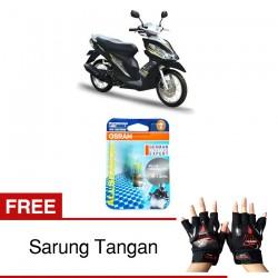 Jual Osram Lampu Motor Skydrive 125 P15D-25-1 - All Season Super - Free Sarung Tangan - Mampu Menembus Kabut & Gerimis