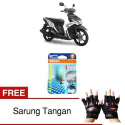 Jual Osram Lampu Motor Yamaha Mio M3 P15D-25-1 - All Season Super - Free Sarung Tangan - Mampu Menembus Kabut & Gerimis