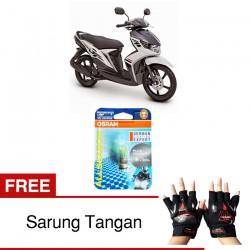Jual Osram Lampu Motor Mio Soul GT M3 P15D-25-1 - All Season Super - Free Sarung Tangan - Mampu Menembus Kabut & Gerimis