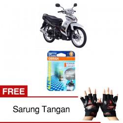 Jual Osram Lampu Motor Yamaha Vega ZR P15D-25-1 - All Season Super - Free Sarung Tangan - Mampu Menembus Kabut & Gerimis