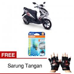 Jual Osram Lampu Motor Yamaha Xeon P15D-25-1 - All Season Super - Free Sarung Tangan - Mampu Menembus Kabut & Gerimis