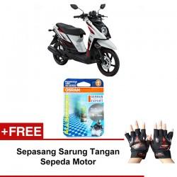 Jual Osram Lampu Motor Yamaha X-ride P15D-25-1 - All Season Super - Free Sarung Tangan - Mampu Menembus Kabut & Gerimis