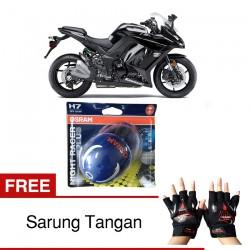 Jual Osram Lampu Motor Kawasaki Ninja Z1000 Night Racer Plus H7 High/Low Beam - Free Sarung Tangan - dg Harga Murah
