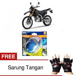 Jual Osram H4 Lampu Motor Yamaha WR250R Low/High Beam - Free Sarung Tangan - Night Racer Plus - dg Harga Murah