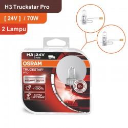 Osram Lampu Mobil Truck H1 Truckstar Pro - 24V 70W - 64155TSP - dengan Harga Murah