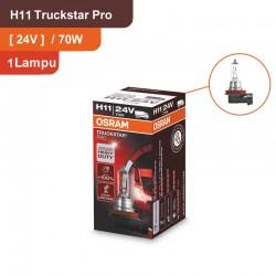 Osram Lampu Mobil Truck H11 Truckstar Pro - 24V 70W - 64216TSP - dengan Harga Murah