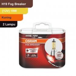 Jual Osram Lampu Kabut Mobil H16 Fog Breaker 12V 19W - 62219FBR - Kuning - dg Harga Murah