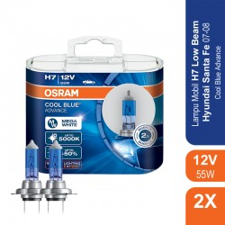 Jual Osram Lampu Mobil H7 Cool Blue Advance 12V 55W - 62210CBA - Biru - dg Harga Murah