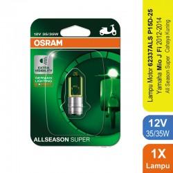 Jual Osram Lampu Depan Motor Yamaha Mio J Fi 2012-2014 - 62337ALS - All Season Super - Mampu Menembus Hujan, Kabut Gerimis