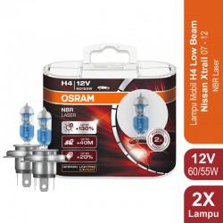 Osram Lampu Mobil H4 Night Breaker Laser 12V 60/55W - 64193NBL - dengan Harga Murah