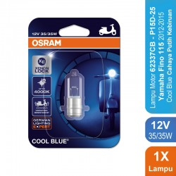 Osram Lampu Depan Motor Yamaha Fino 115 2012-2013 - 62337CB 35/35 12V P15D-25-1 Cool Blue