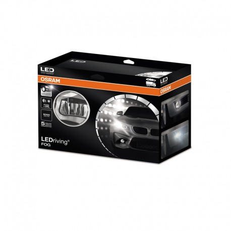 OSRAM LEDriving FOG fog light, daytime running light, assistant conering LEDFOG101 6000K 1 complete set
