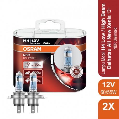 Lampu Night Breaker Unlimited - H4 - 64193NBU 12V 55W