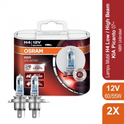 Lampu Night Breaker Unlimited - H4 - 64193NBU 12V 55W