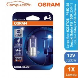 Osram Lampu Depan Motor Suzuki Satria Fu 150 R 2004-2013 - 62337CB 35/35 12V P15D-25-1 Cool Blue