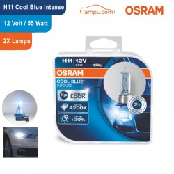 Jual Osram Lampu Mobil H11 Cool Blue Intense 12V 55W - 64211CBI - dengan Harga Murah