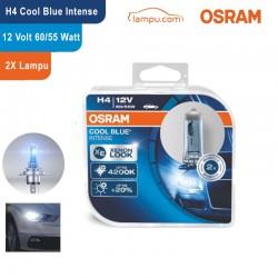 Jual Osram Lampu Mobil H4 Cool Blue Intense 12V 60/55W - 64193CBI - Putih Kebiruan - dengan Harga Murah