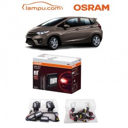 Jual Osram Lampu Mobil Honda All New Jazz - HID Convertion Kit DH4 P43T - Free Lap Chamois Osram